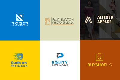 Design custom, minimalist logo and social media materials