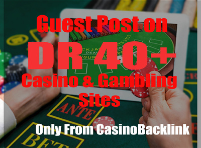 1x Guest post on DR 40+ Casino  Sports Betting Poker Gambling We