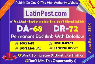 Publish a guest post on Latinpost.com – DA70 - Dofollow Backlink