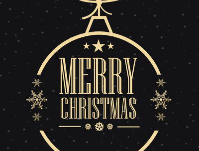 Create an attractive Christmas logo