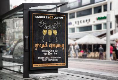 Design a premium print ready poster