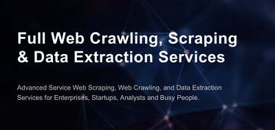 Develop a scraper / crawler for any website or mobile app.