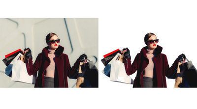 Remove the Background and Retouch 20 Images