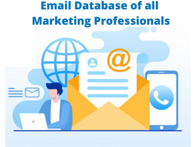 Get database of marketing professionals US to  boost your sales