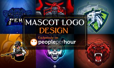 Mascot Logo +Unlimited Concepts & Revisions +Artwork