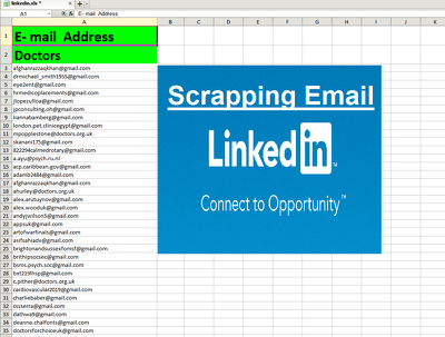Data scrapping Email research from any social media Platform