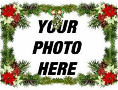 Add Christmas Photo Frame to your Photo