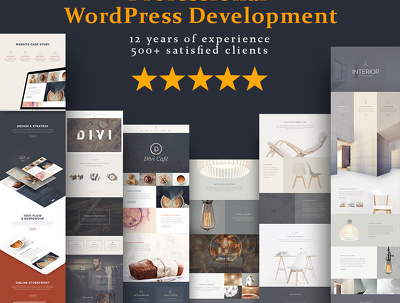 Create WordPress Website or Design WordPress Site