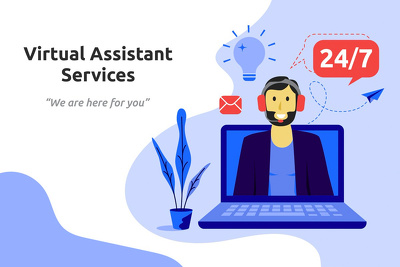 Be your Virtual Assistant for an hour