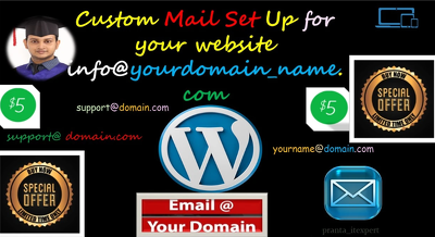 Set up custom email for your domain and website