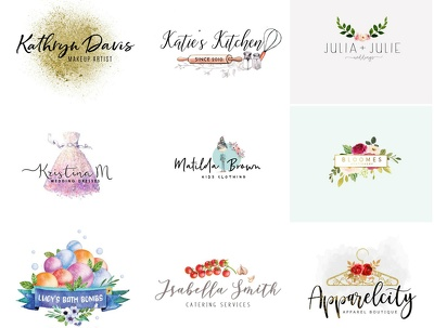 Design bespoke logo+3-4 Concepts+unlimited Revisions+Artwork