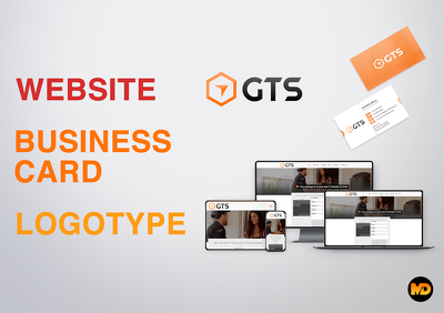 WEBSITE + BUSINESS CARD + LOGOTYPE in 5 days!