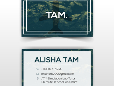 Design a modern business card (Double sided)+unlimited revisions