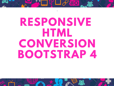 Convert your psd file to html responsive