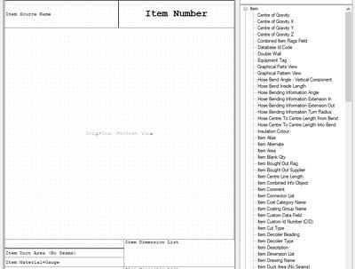 Build a custom Fabrication CADmep report