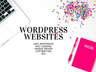 Develop 8 pages Wordpress website