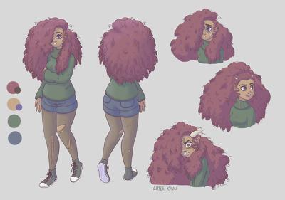 Design a 2D character