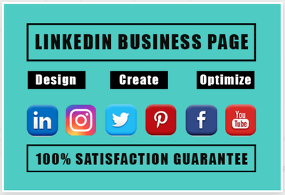 Design and optimize linkedin business page or company page