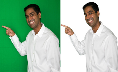 Remove the background of 20 images or photo's