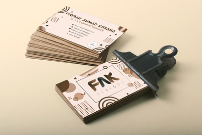 Do Memphis Business Card Design