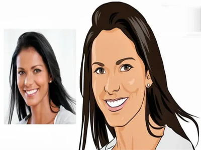 Draw original cartoon portrait from your photo