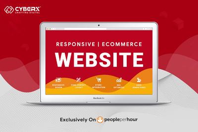 Develop a responsive website or ecommerce website