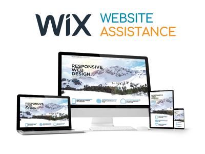 Wix Assistance 1 hour
