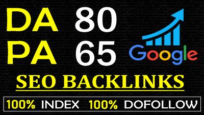Create 500 Dofollow SEO Backlinks High DA PA
