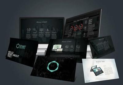 Design a sleek PowerPoint presentation  or investor pitch deck