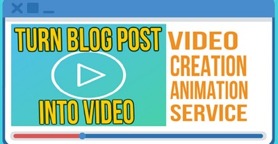Convert Article/Blog to Video/Presentation