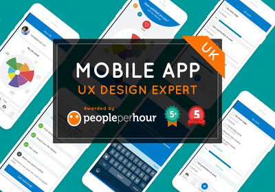 uX UI Mobile app design expert