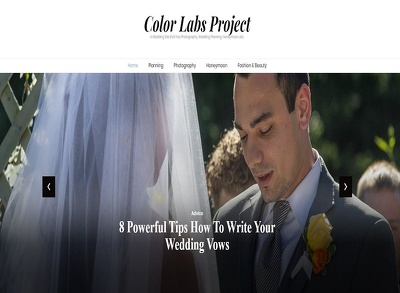 Guest Post on ColorLabsProject.com, Wedding/Lifestyle Blog