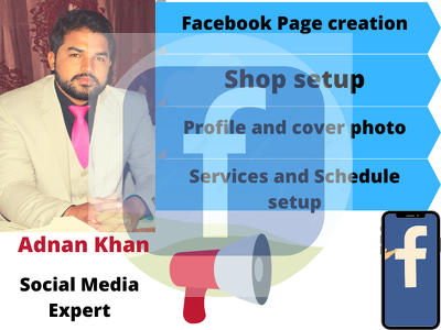 Manage and optimize Facebook business page in  3 days