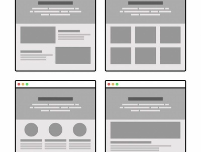 Create wireframes for your website or app