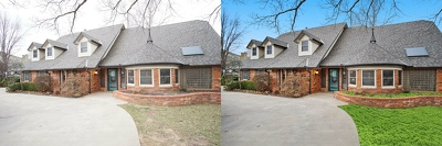edit and enhance 10 real estate images