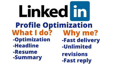 Create and optimize your linkedin profile