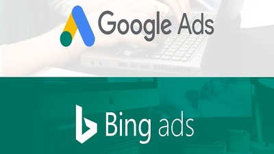 Build starter campaign in Google Ads or Bing from scratch.