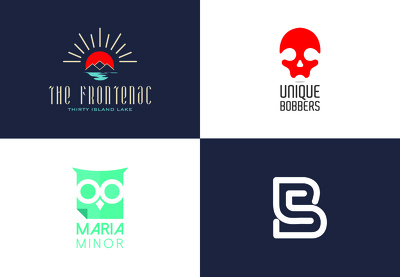 Premium BRAND IDENTITY LOGO WITH 2 CONCEPT (unlimited revisions