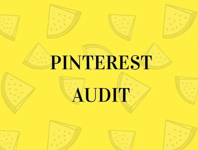Offer a Pinterest Audit