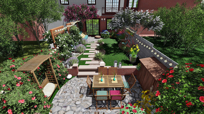 Create landscape design for you