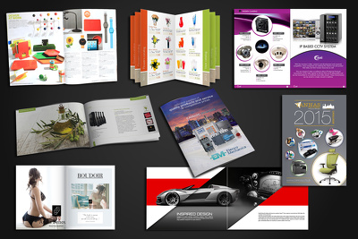 Provide you 10 pages catalog design