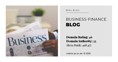 Publish Guest Post on Business-Finance Blog