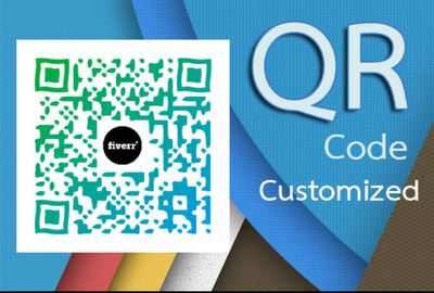Create world class custom QR code with your logo