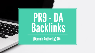 Create 10 PR9 - DA (Domain Authority) Backlinks for your Website