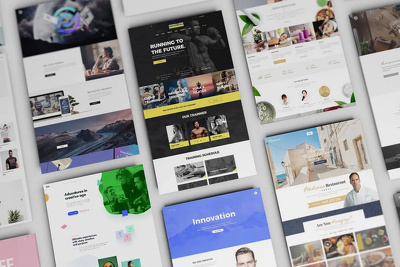 Design a psd website mockup