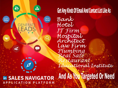 Collect targeted 150 genuine and valid lead with all information