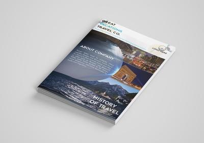 I will do company, organization flyer, poster, brochure,booklet,
