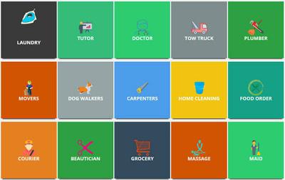 on demand app like Urbanclap / TASKRABBIT
