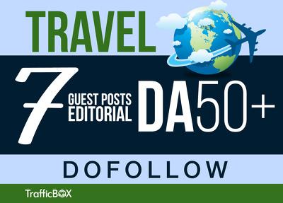 Publish 7 Guest Post US Travel Sites DA50+