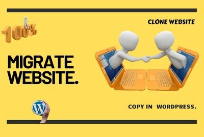 Migrate or clone WordPress website migration backup to copy